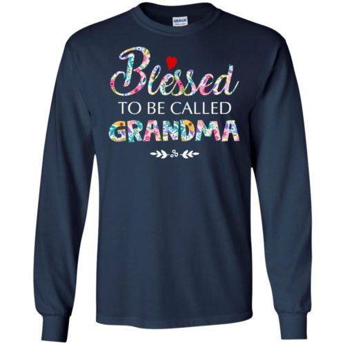 Blessed to be called grandma t shirt, tank top, hoodie