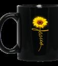 Sunflower Jesus Mugs