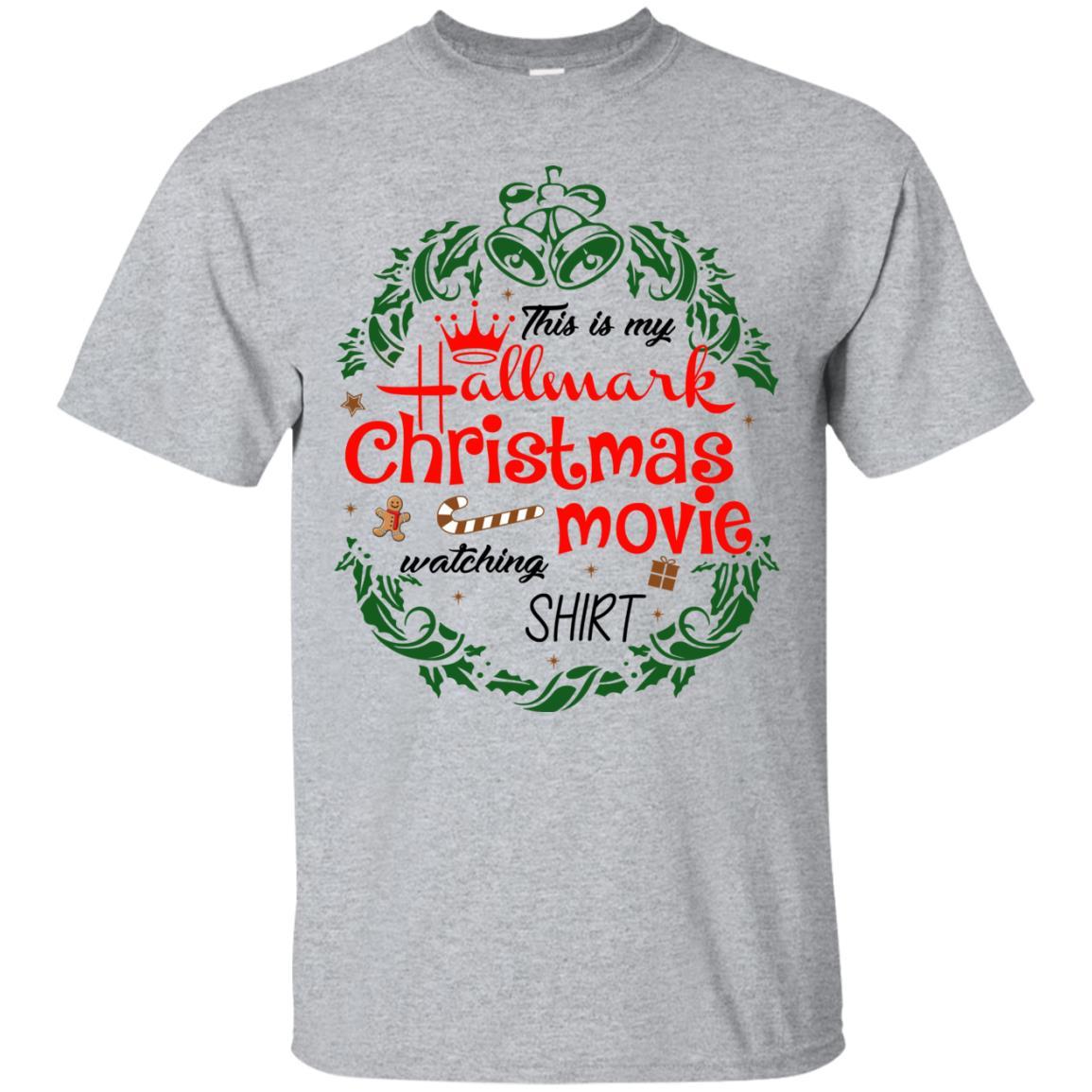 Hallmark Christmas Shirt.This Is My Hallmark Christmas Movie Watching Shirt