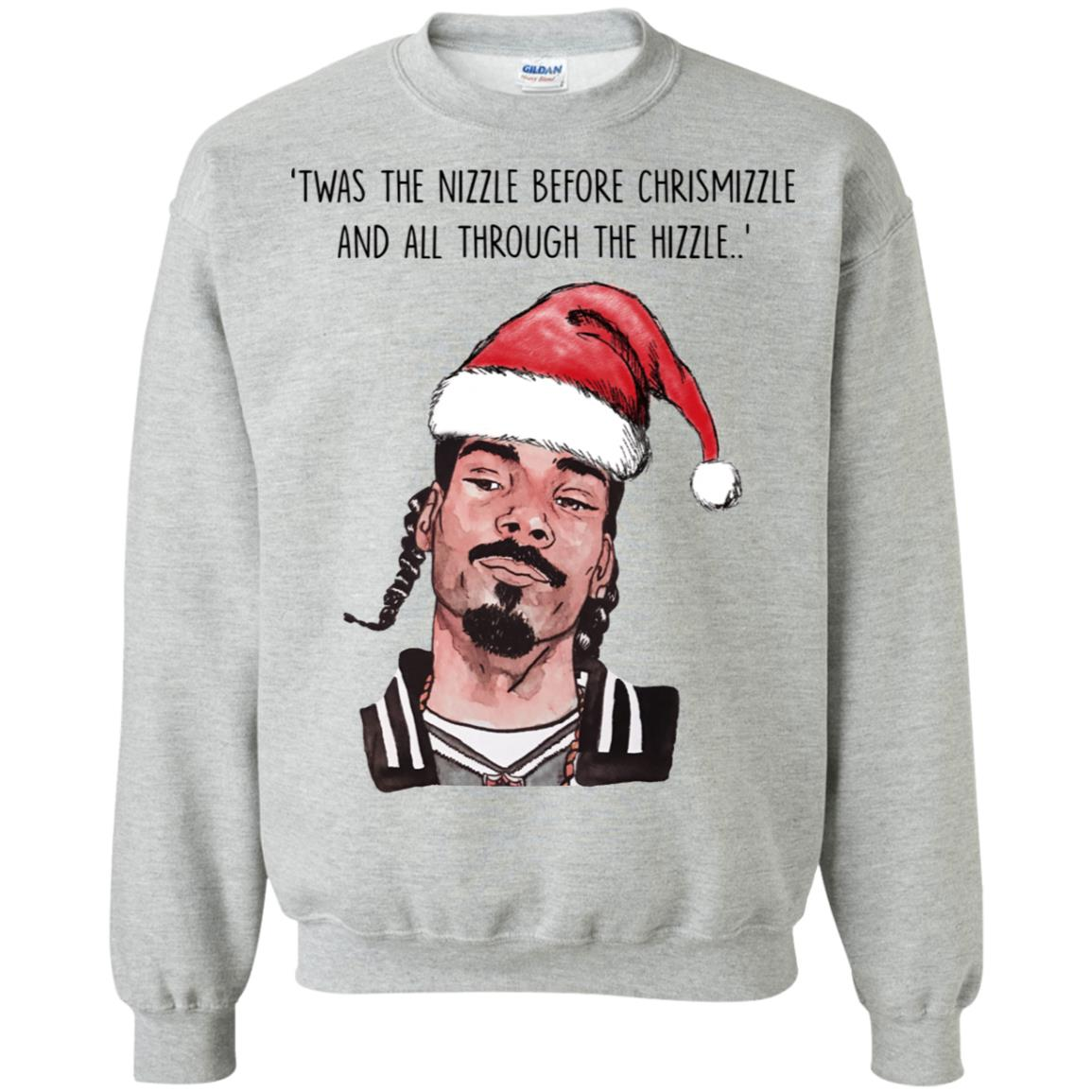 Snoop Dogg Twas The Nizzle Before Chrismizzle And All Through The