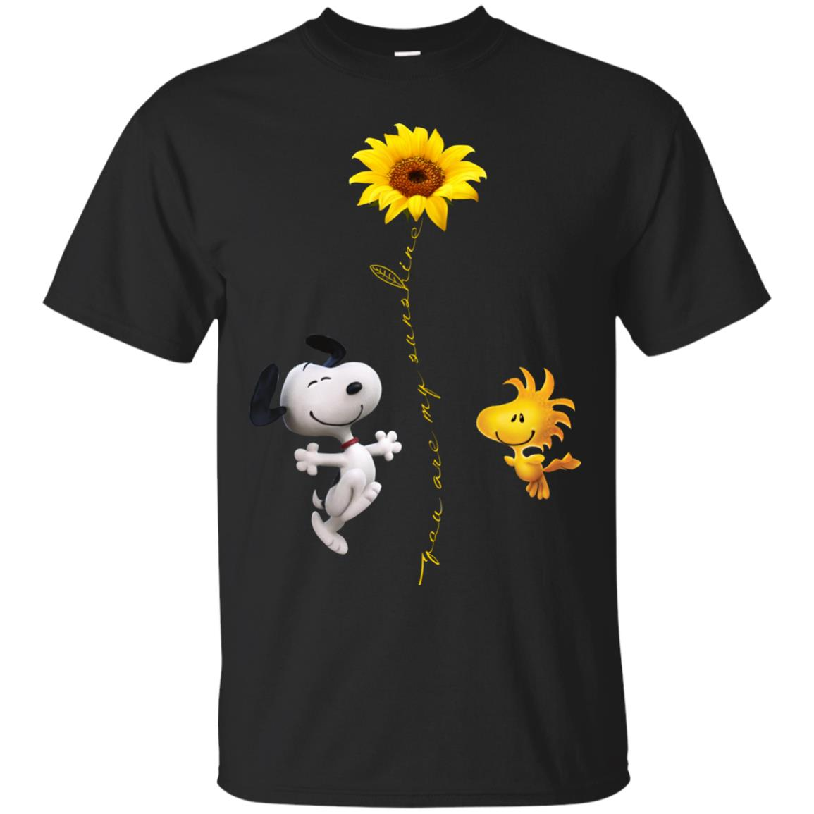 773f7c42cc76ac Snoopy and Woodstock: You are my sunshine t shirt, ls, sweatshirt -  RobinPlaceFabrics