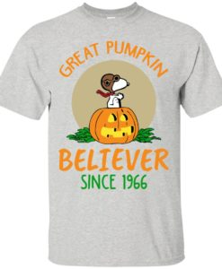 Snoopy: Great Pumpkin Believer Since 1996 t shirt, ls, sweatshirt
