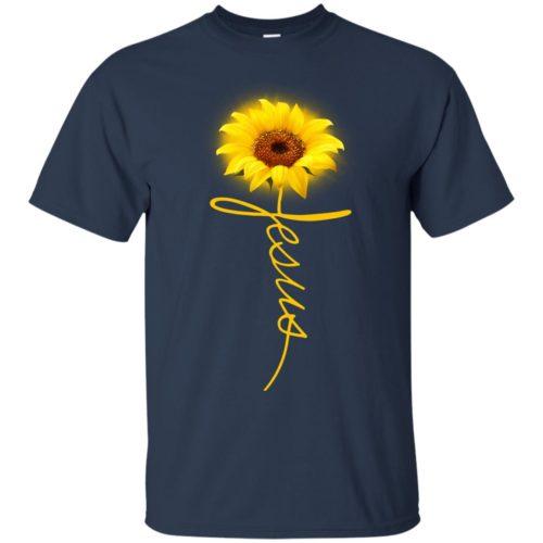 Sunflower Jesus T shirt, Ls, Sweatshirt
