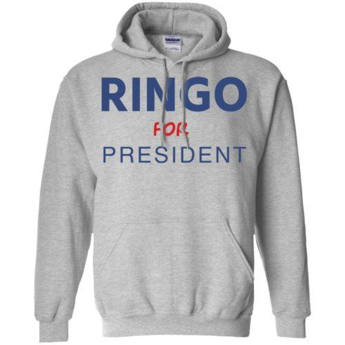 Ringo for president t shirt, tank, hoodie