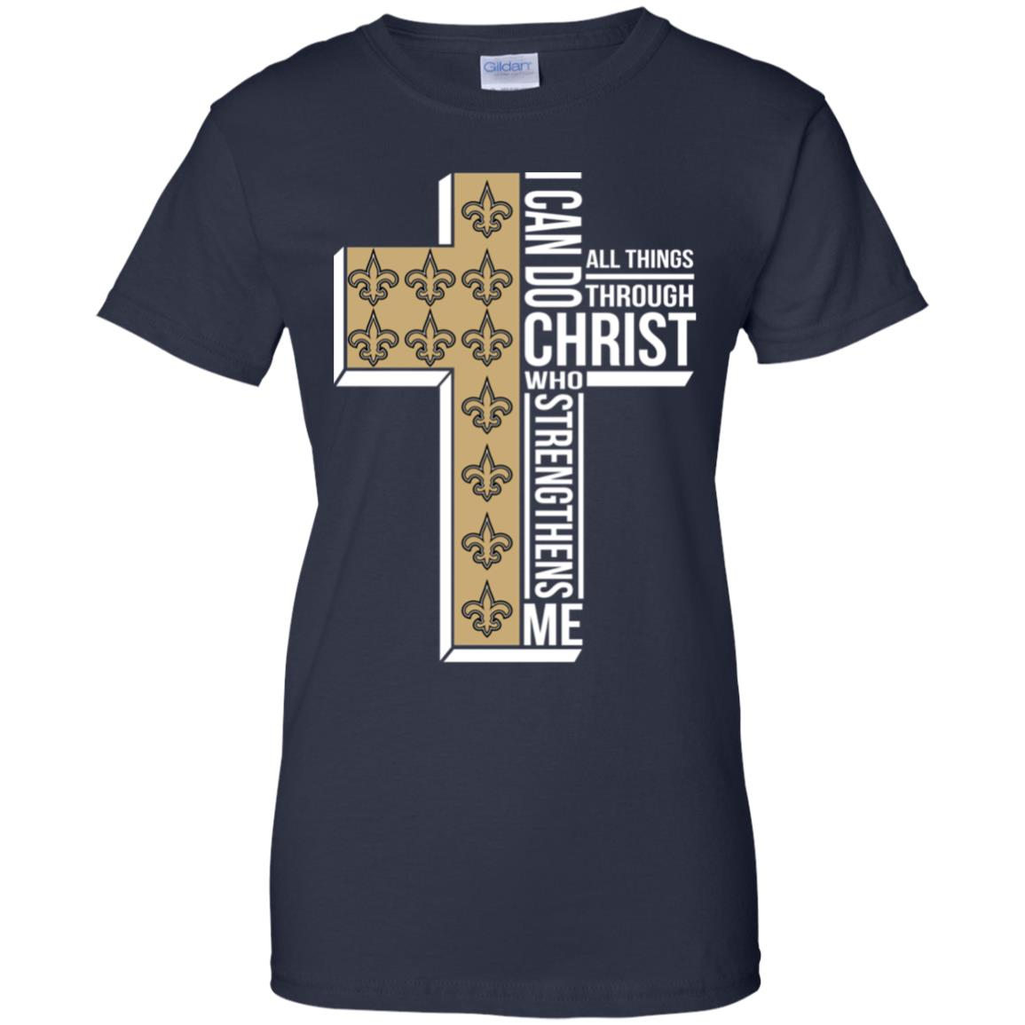New Orleans Saints I can do all things through christ who