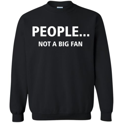 People Not A Big Fan T shirt, Ls, Hoodie