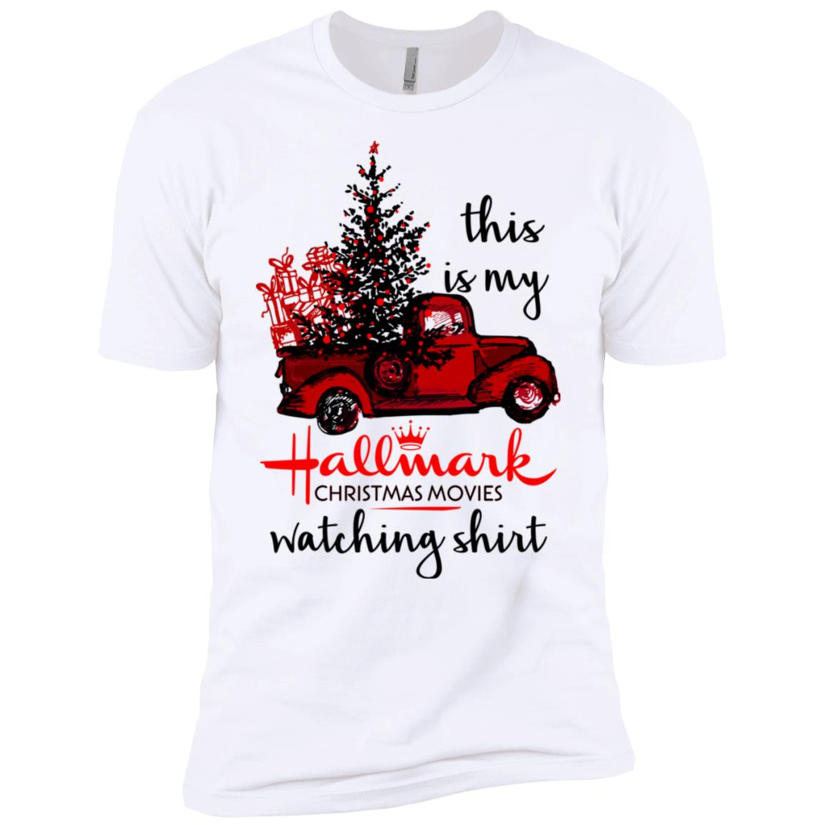 Hallmark Christmas Movies All Day This is My Hallmark Christmas Movie Watching Long Shirt
