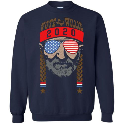 Vote for Willie 2020 T shirt, Ls, Hoodie