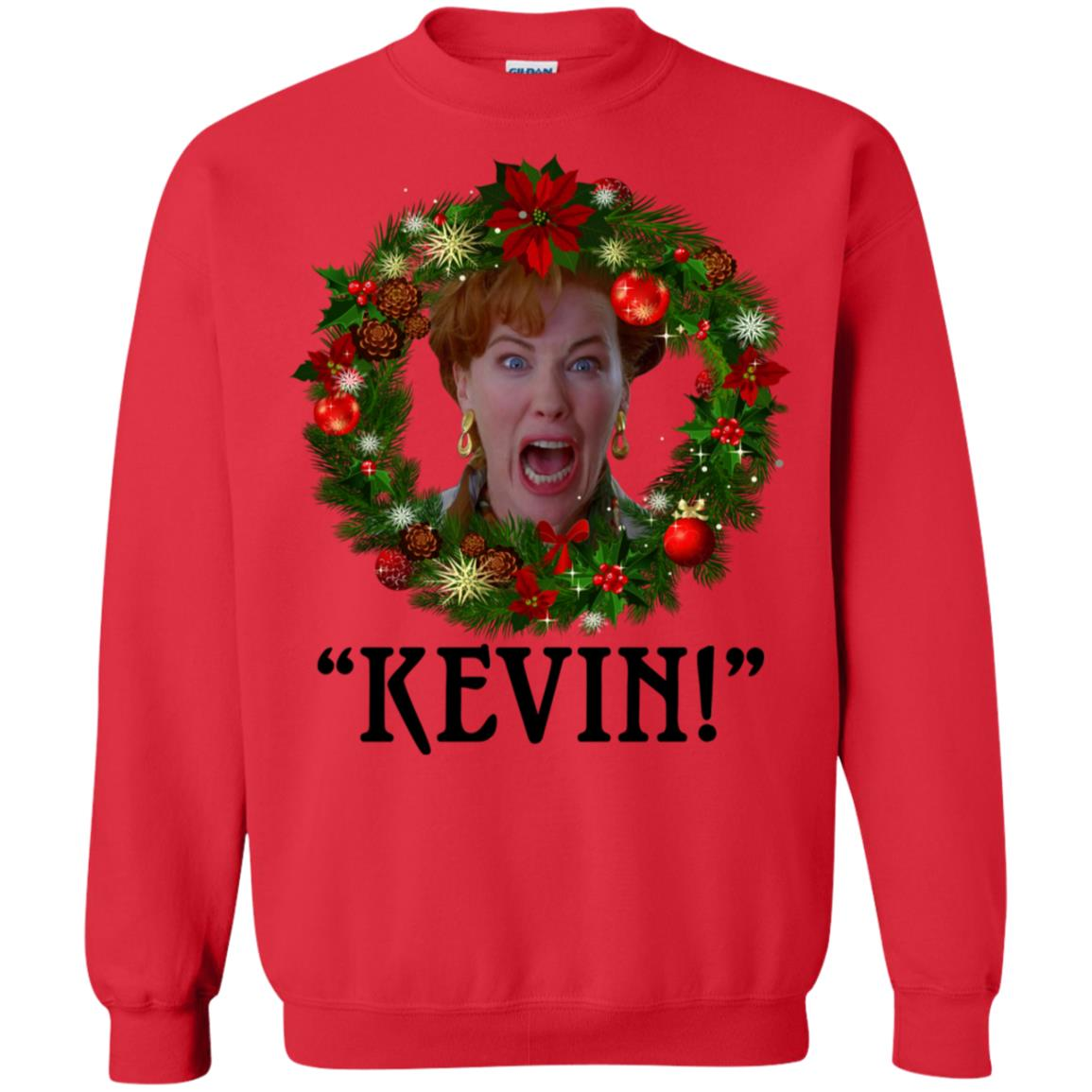 Home Alone Kevin Christmas Sweater T Shirt Hoodie Robinplacefabrics