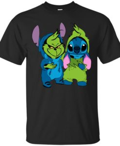 Baby Grinch and Stitch T shirt, Ls, Sweater