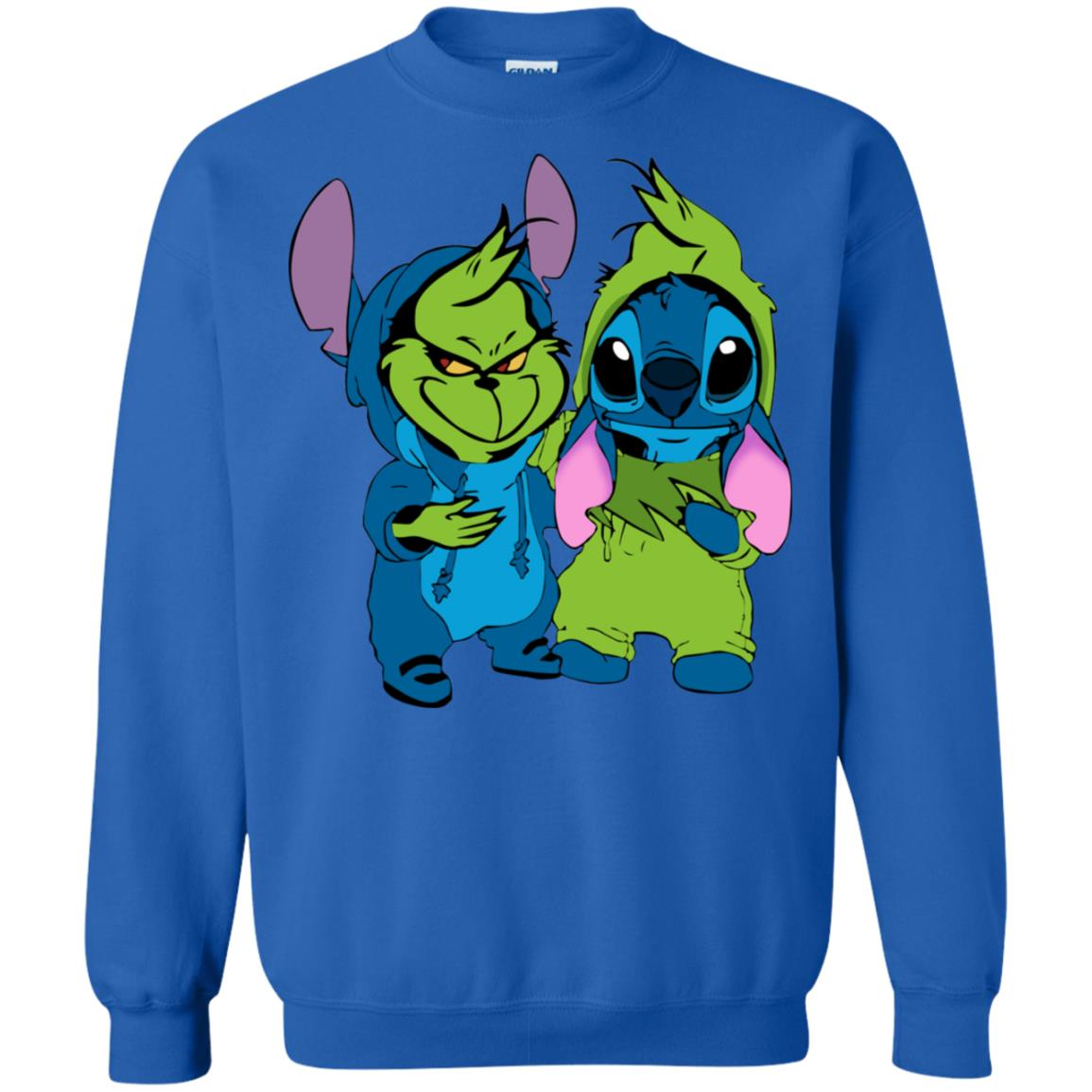 943eb40bc5d9 Baby Grinch and Stitch T shirt, Ls, Sweater - RobinPlaceFabrics