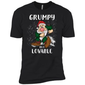 Grumpy but lovable T shirt, LS, Hoodie