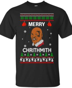 Merry Chrithmith Mike Tyson Ugly Christmas Sweater