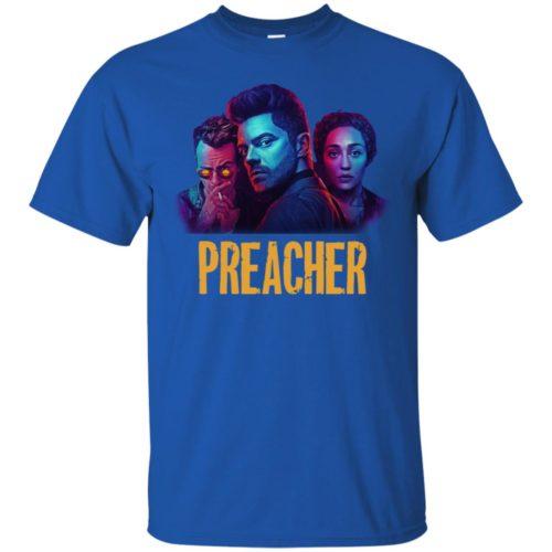 Preacher Season 2 Comic Book Cult T shirt, Ls, Hoodie