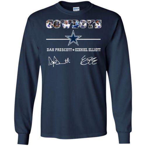 Cowboys Dak Prescott Ezekiel Elliott T shirt, Ls, Sweatshirt