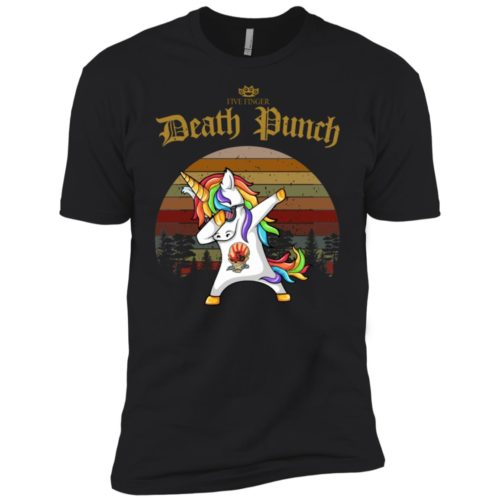 Unicorn dabbing Five finger death punch t shirt, ls, hoodie