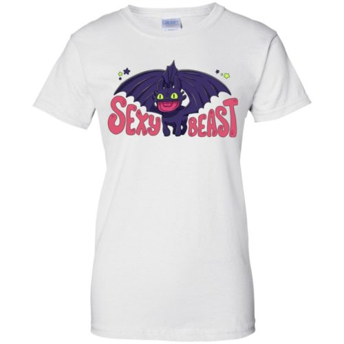 Sexy Beast Toothles t shirt, ls, hoodie