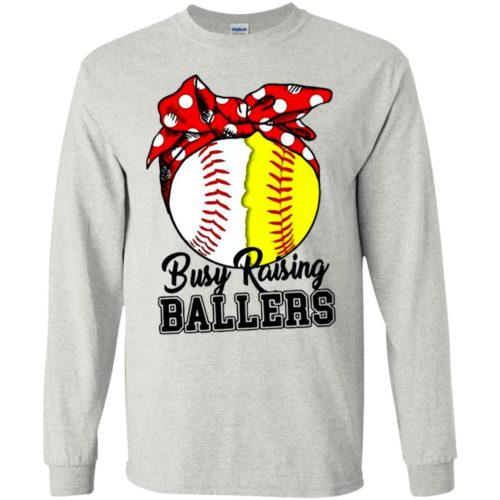 Softball Busy raising ballers t shirt, tank, hoodie