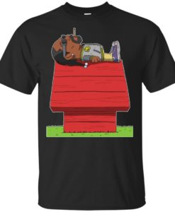 e1bba21f Snoop Dogg Sleeping On Snoopy's House T shirt, Hoodie, Ls -  RobinPlaceFabrics