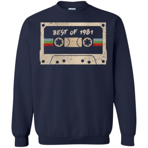Best of 1981 mixtape cassette shirt