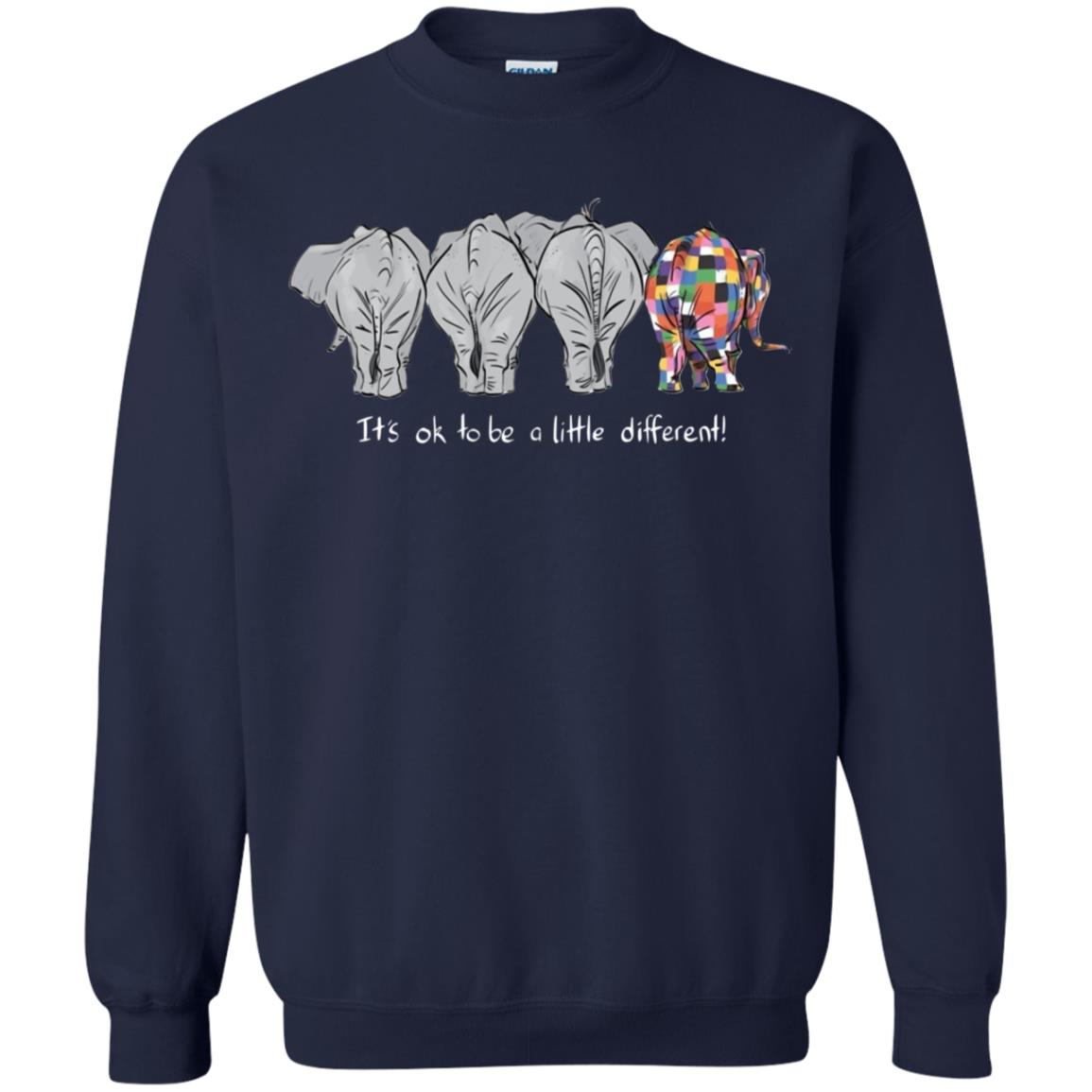 b4ee758f6 Elephant it s ok to be a little different shirt - RobinPlaceFabrics