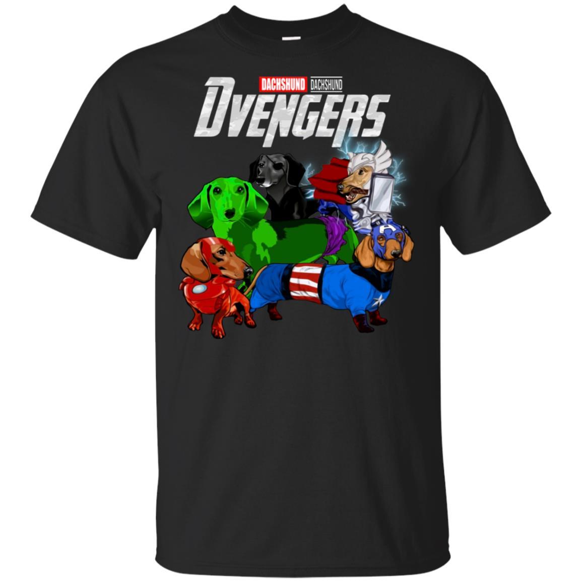 aeba3b02 Avengers Dvengers dachshund t shirt, tank, hoodie - RobinPlaceFabrics