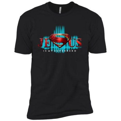 Jesus is my superhero t shirt, tank top, hoodie