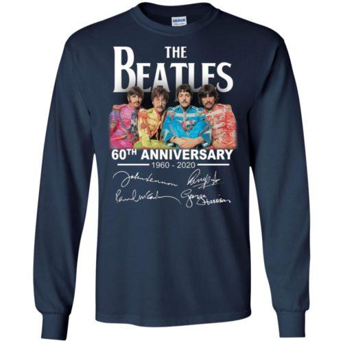 The Beatles 60th anniversary 1960 2020 signature shirt