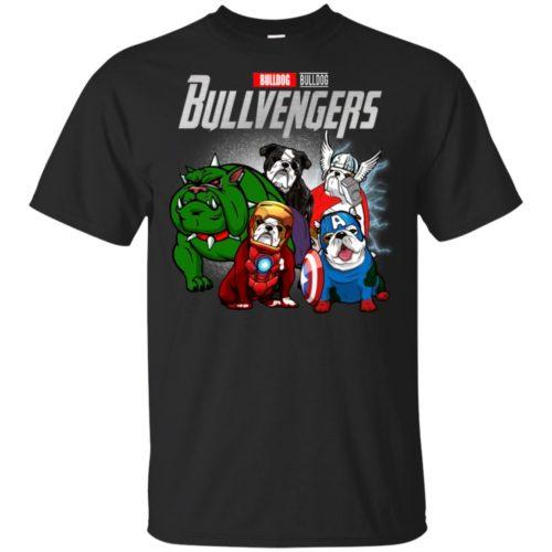 Marvel avengers endgame bulldog bullvengers shirt