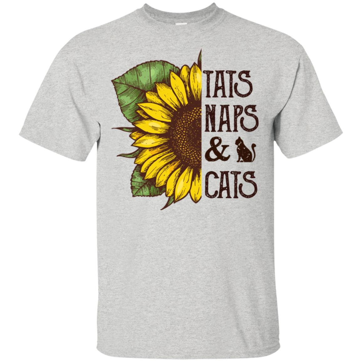 ccdccba6 Sunflower tats naps and cats t shirt, tank top, hoodie ...