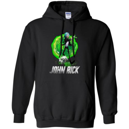 John Rick John Wick Rick And Morty Hoodie, T shirt
