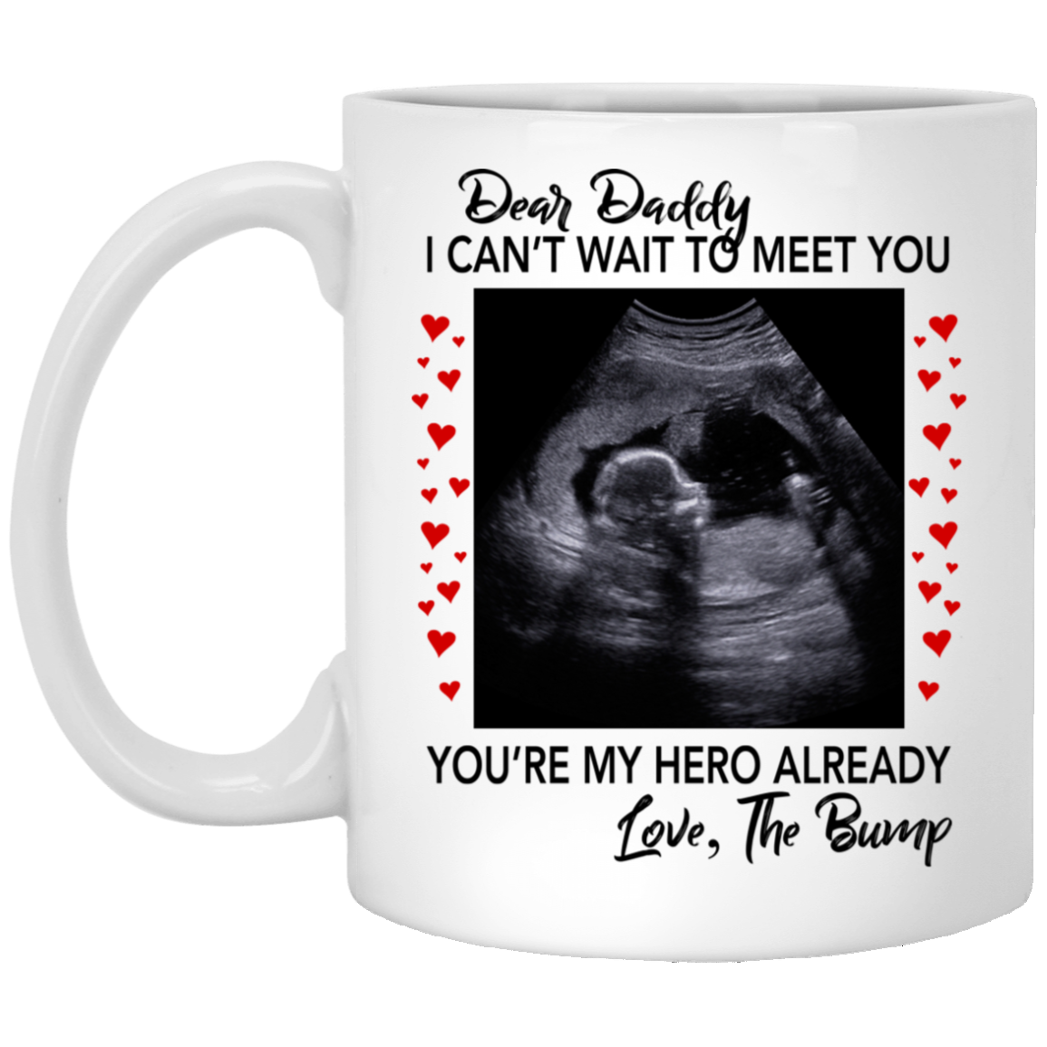 Dear Daddy I Can T Wait To Meet You You Re My Hero Already