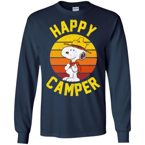 Peanuts Snoopy happy camper hoodie, t shirt