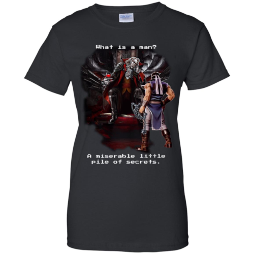 Symphony of the Night What is a man a miserable little pile of secrets hoodie, t shirt