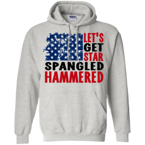 Let's get star spangled hammered hoodie, t shirt