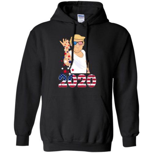 Trump salt bae 2020 hoodie, ls, t shirt