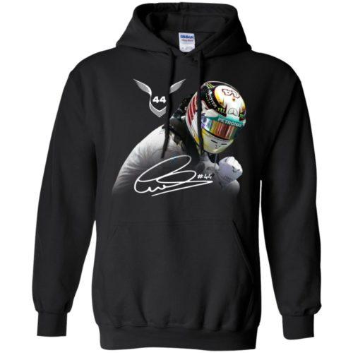 Lewis Hamilton 44 F1 world drivers champion shirt