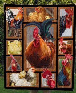 3D Chicken Quilt