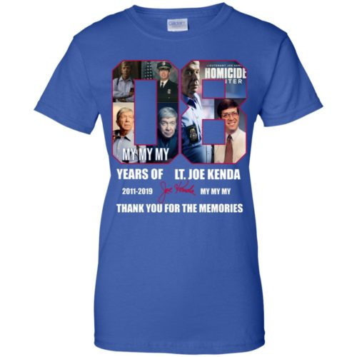 08 years of LT Joe Kenda 2011 2019 My My My Thank you for the memories