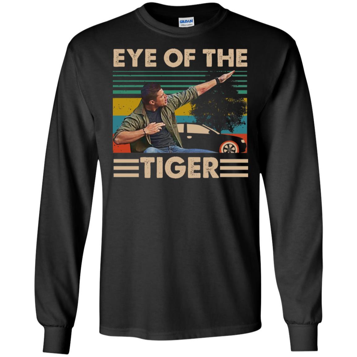 Supernatural Dean Eye of The Tiger Cotton T-Shirt for Men