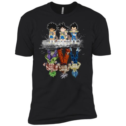 Baby Broly Goku Vegeta water mirror Super Dragon Ball Heroes shirt