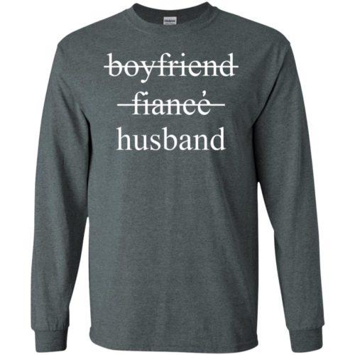 Boyfriend fiance husband hoodie, t shirt