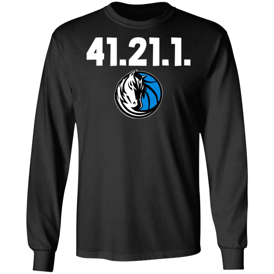 41.21.1 Dallas Mavericks Black T-shirt DIRK NOWITZKI Final Home Game Shirt
