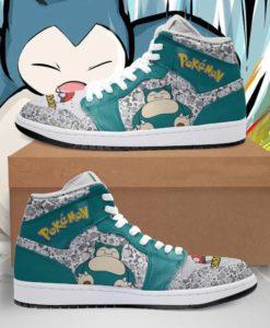 Snorlax Cute Pokemon Jordan Sneakers