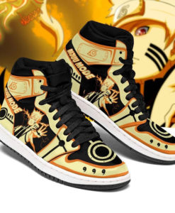 Naruto Nine-Tails Mode Jordan 1 High Sneaker
