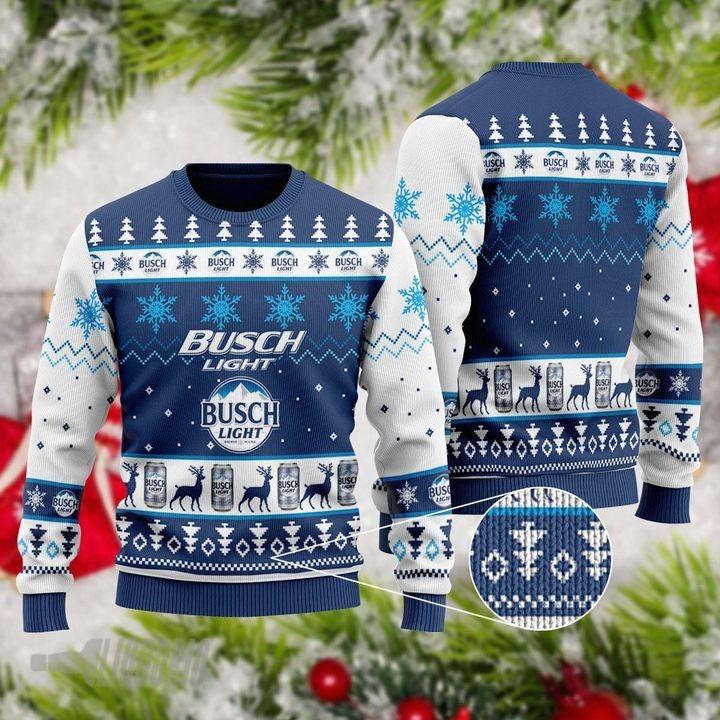 Bush Light Ugly Christmas Sweater