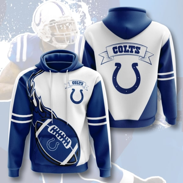The Indianapolis Colts Football Team Full Printed Hoodie