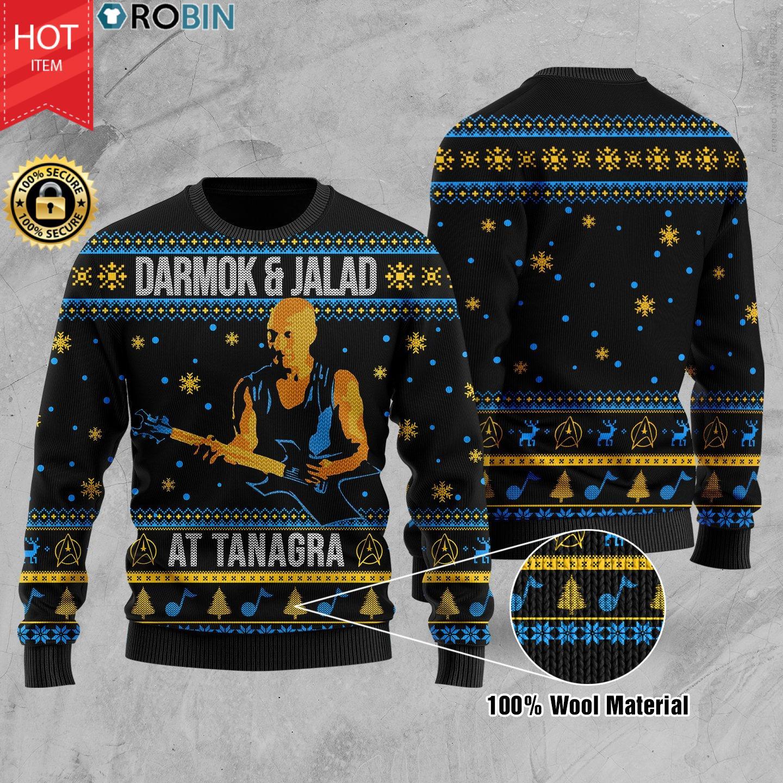 Darmok And Jalad At Tanagra Wool Ugly Christmas Sweater