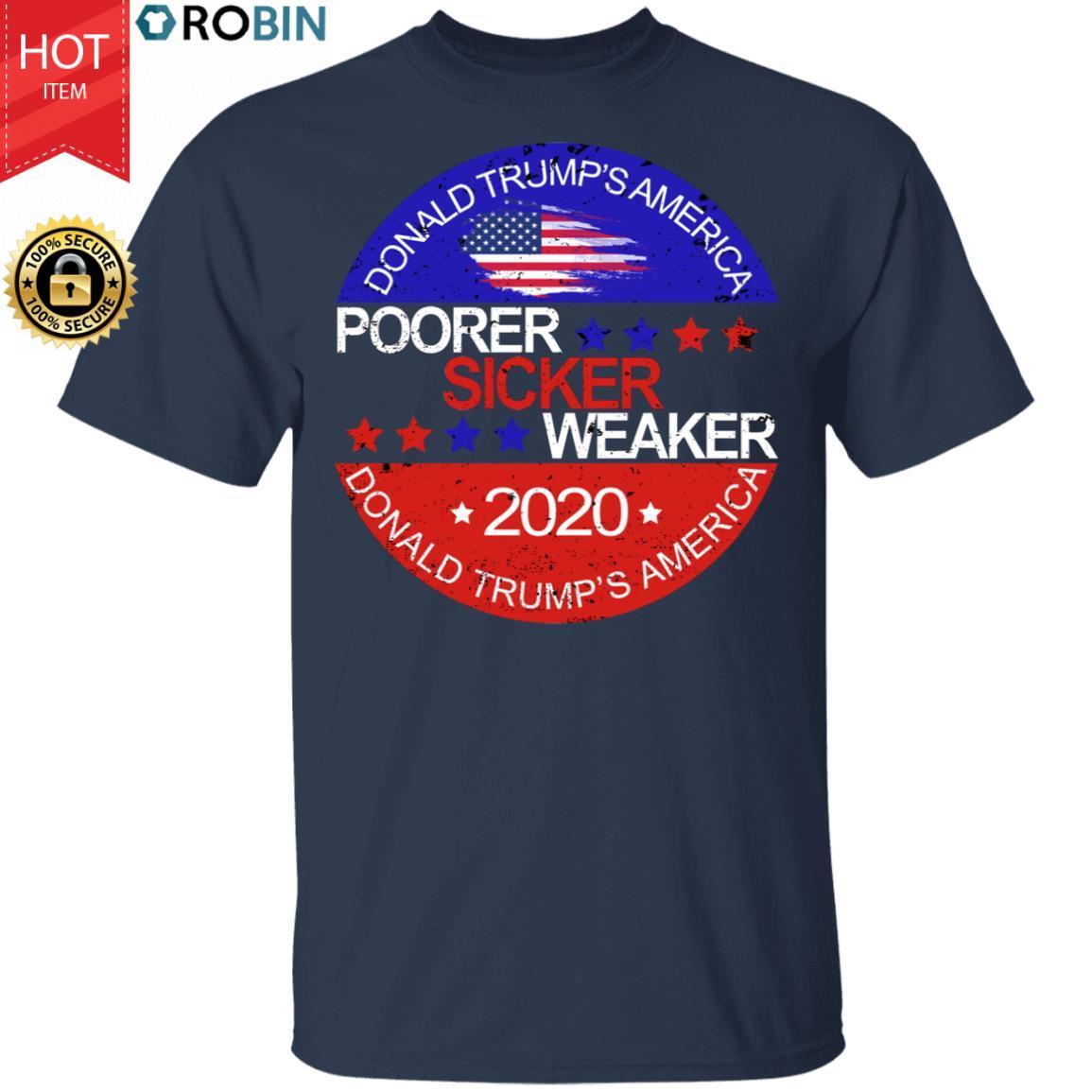 Poorer Sicker Weaker American Presidential Debates 2020