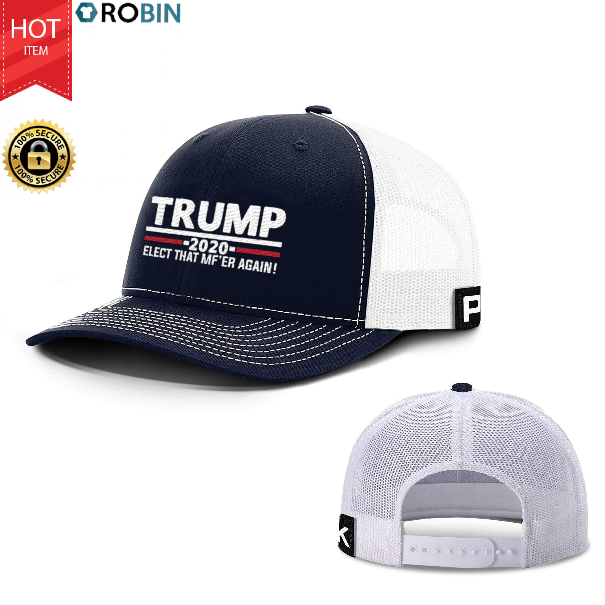 Trump 2020 Back Mesh Hat
